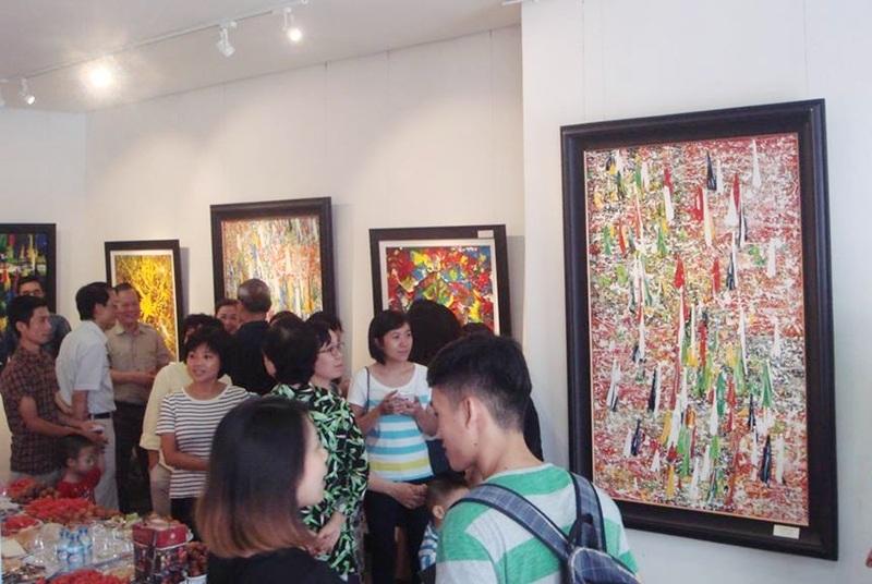 Tự do cảm thức với triển lãm tranh Hơi thở cuộc sống - 4