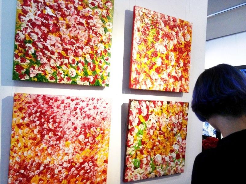 Tự do cảm thức với triển lãm tranh Hơi thở cuộc sống - 7