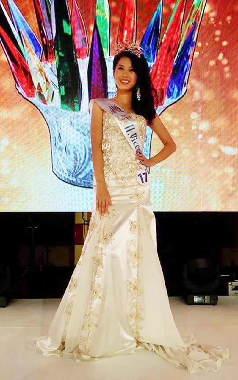 Thúy Đoan - đại diện Việt Nam tham dự cuộc thi vào năm ngoái đã giành giải Á hậu 2.