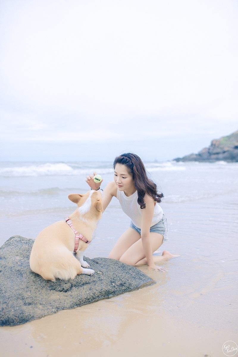 """""""Cô gái trà sữa"""" Việt đáng yêu trong bộ ảnh mới cùng thú cưng - 3"""