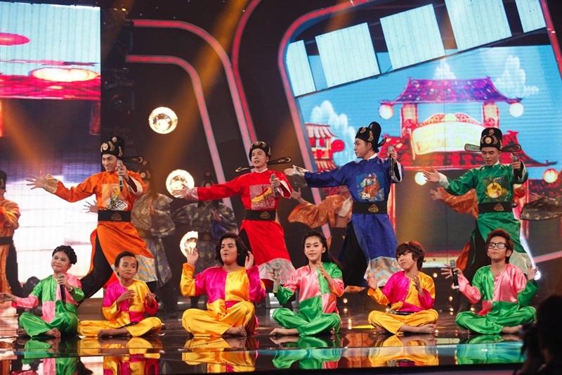 """Nhóm 365 mang hit phim """"Tấm Cám"""" đến Idol Kids, Hồ Văn Cường hát nhạc trẻ - 5"""