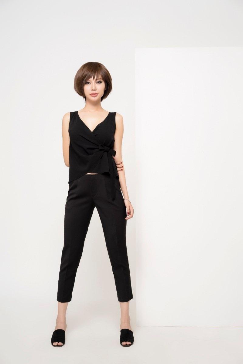 Hoa hậu Điện ảnh Huỳnh Yến Trinh trẻ trung phối đồ phong cách cá tính - 4