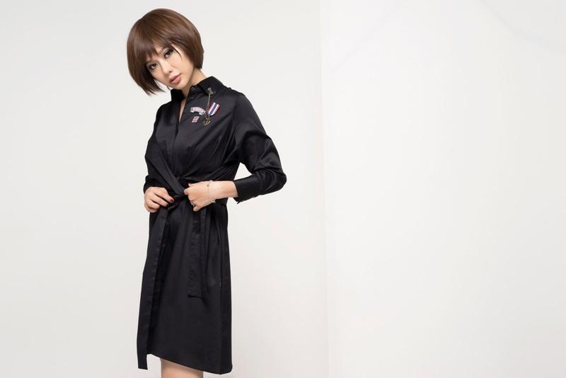 Hoa hậu Điện ảnh Huỳnh Yến Trinh trẻ trung phối đồ phong cách cá tính - 10