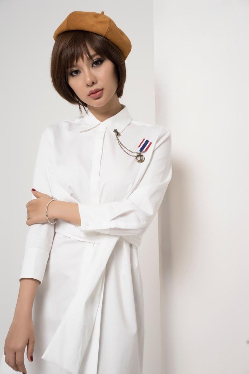 Hoa hậu Điện ảnh Huỳnh Yến Trinh trẻ trung phối đồ phong cách cá tính - 6