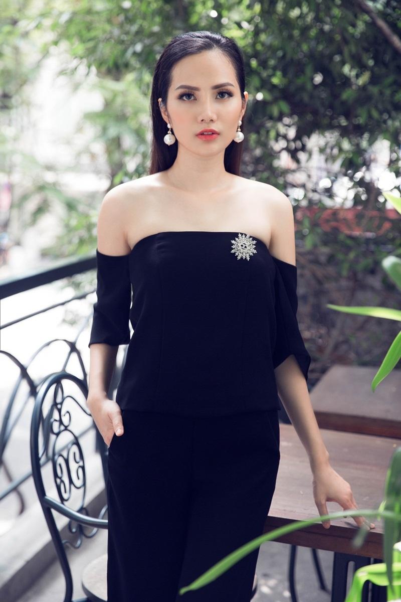 Hoa hậu Đông Nam Á Diệu Linh ngọt ngào với đầm hai dây - 7