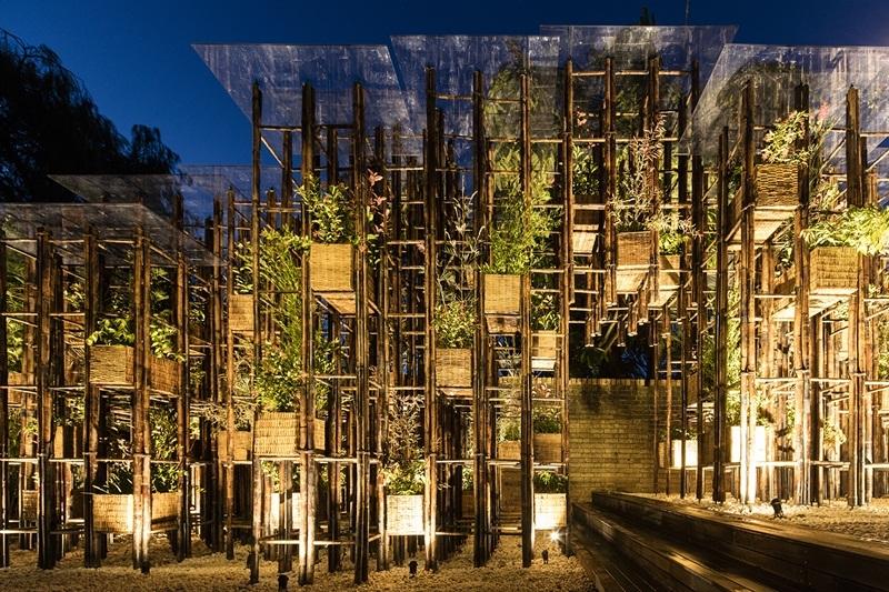 """Công trình """"Green Ladder"""" của công ty Võ Trọng Nghĩa tham dự như một công trình tiêu biểu của triển lãm."""