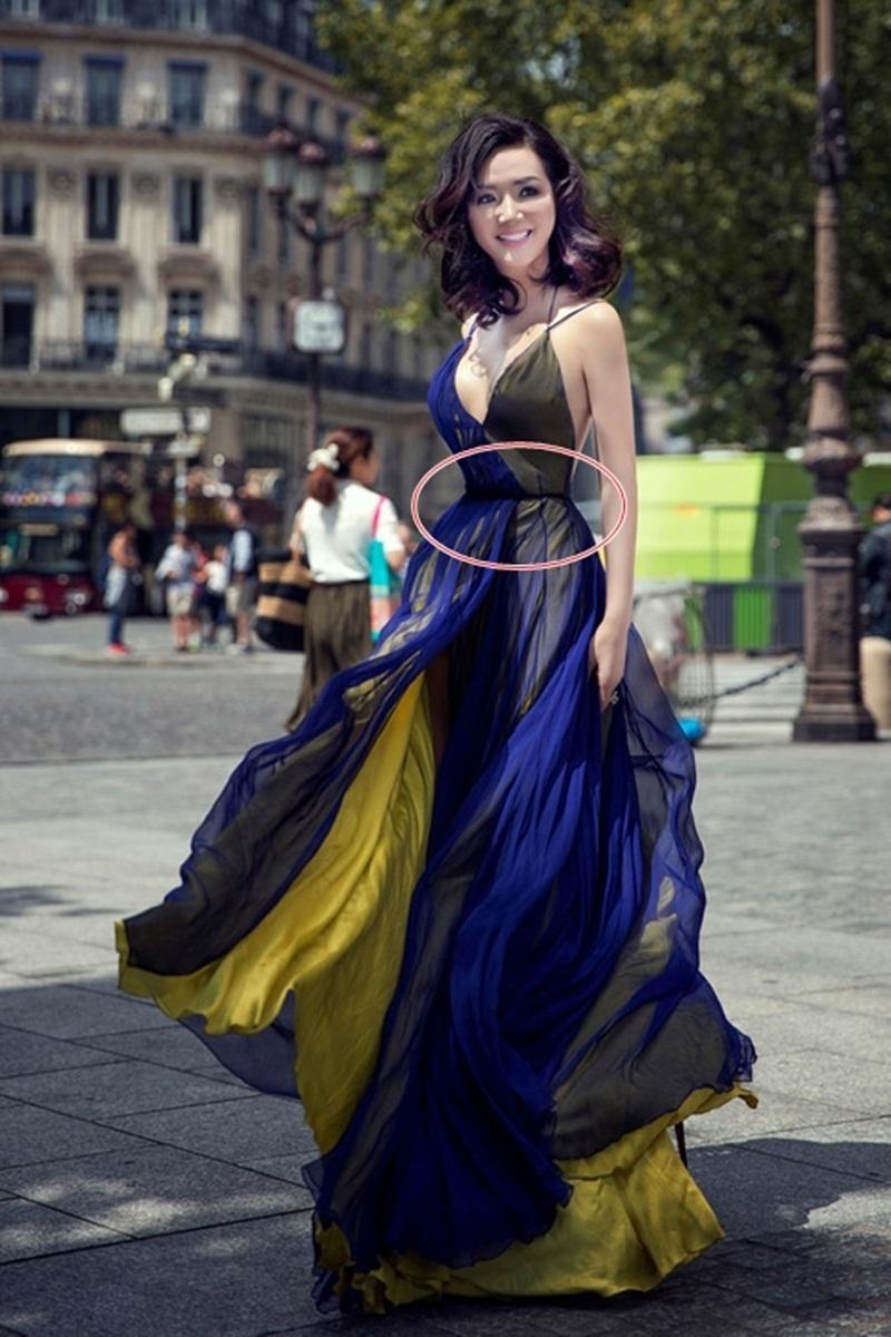 Hình ảnh mới nhất của Hoa hậu Đền Hùng Giáng My tại Paris trong một sự kiện thời trang vừa công bố đã bị công chúng mổ xẻ vì mức độ can thiệp quá sâu của công nghệ. Giáng My xuất hiện trên ảnh với tỉ lệ eo quá nhỏ so với vai, vòng một và vòng 3 khiến hình dáng của cô theo nhận xét của nhiều người là biến dạng.
