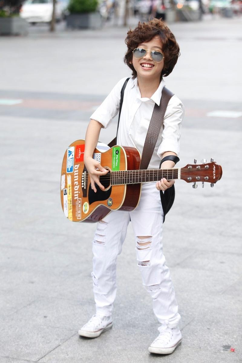 Thần đồng trống Trọng Nhân sẽ diễn Chung kết Vietnam Idol Kids 2016 - 6