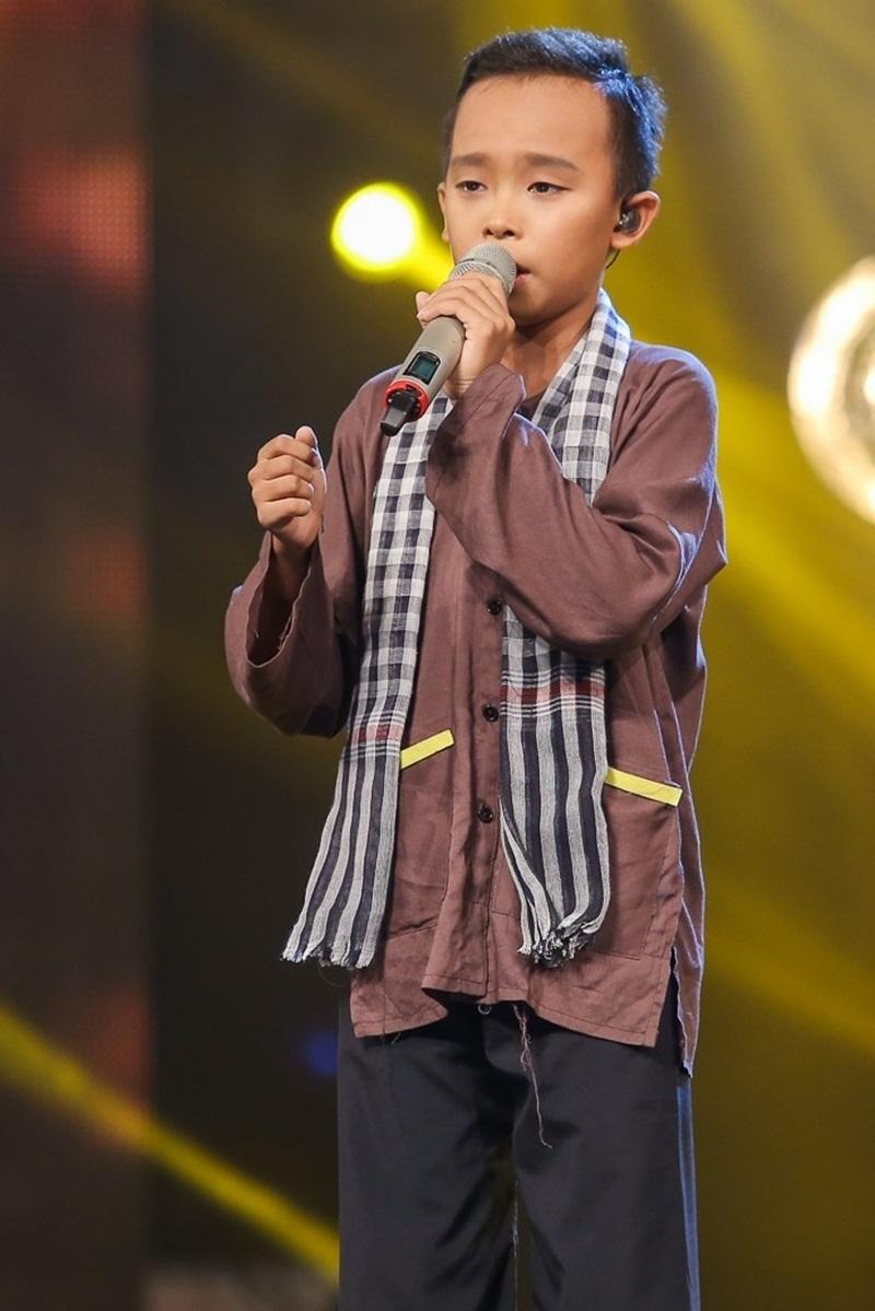 Những sao nhí Việt được khán giả mê mệt khi hát dân ca - 1