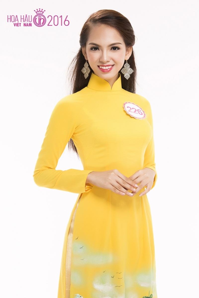 Lục Thị Thu Thảo (SBD 226): Á khôi cuộc thi Miss FTU (ĐH Ngoại thương cơ sở TP HCM) 2016.