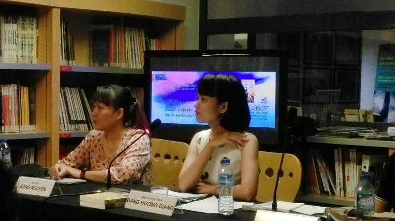 MC của buổi tọa đàm Đặng Hương Giang nói rằng mỗi tác phẩm là cơ hội để người đọc tìm thấy một câu chuyện cổ tích giữa đời thường.
