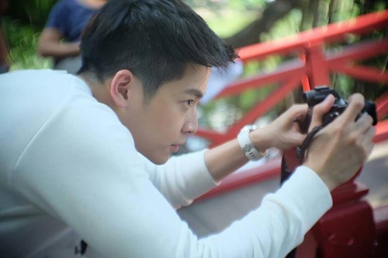 Chutavuth Pattarakampol (March) xuất hiện trong một phân cảnh quay tại Hà Nội (Việt Nam).