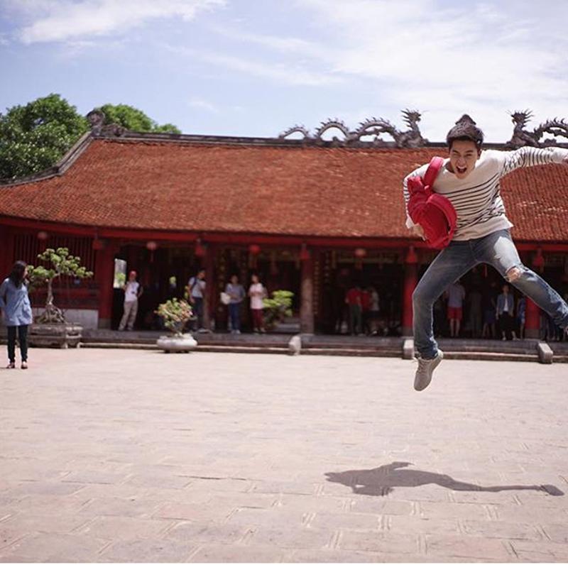Ngắm Hà Nội nên thơ trong phim mới của mỹ nam Thái Lan - 10