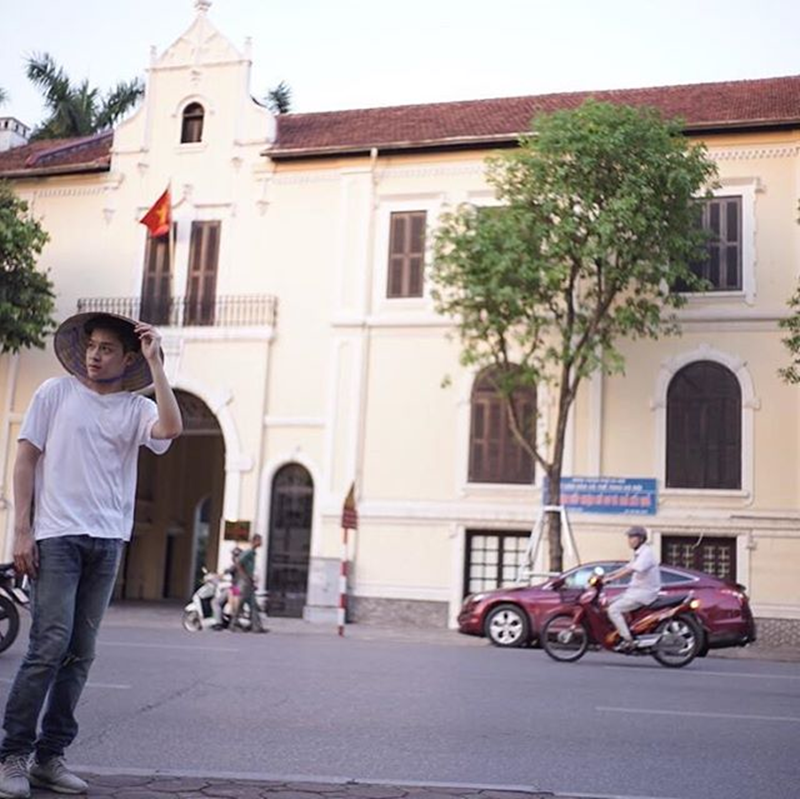 Ngắm Hà Nội nên thơ trong phim mới của mỹ nam Thái Lan - 9