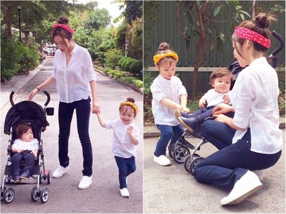 Elly Trần đề cập tới là việc các ông bố, bà mẹ trong showbiz không thể chủ động thời gian dành cho các con.