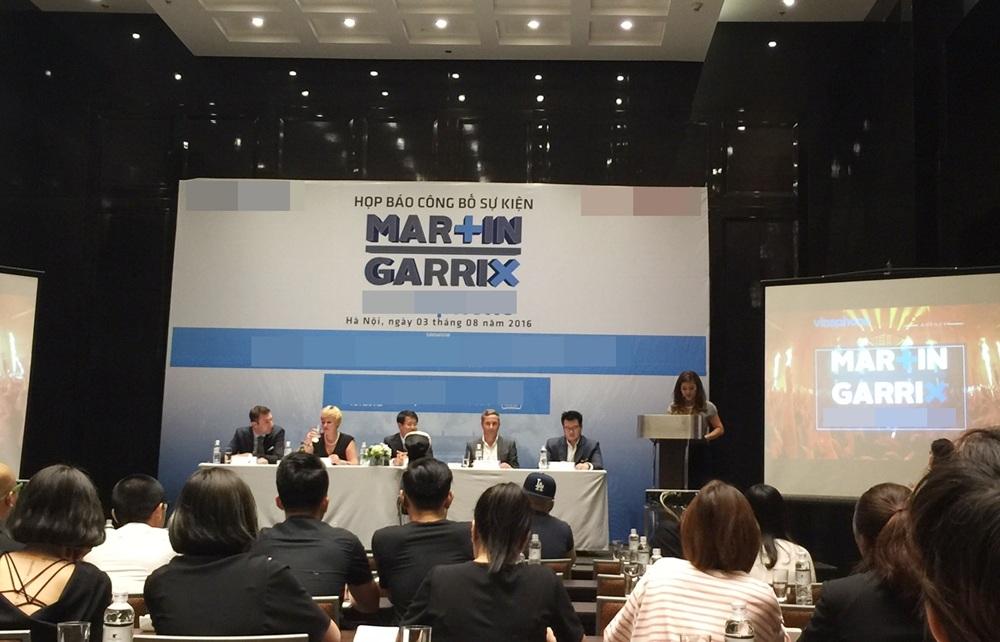 Đại diện BTC chính thức xác nhận thông tin trong buổi họp báo chiều ngày 03/8.