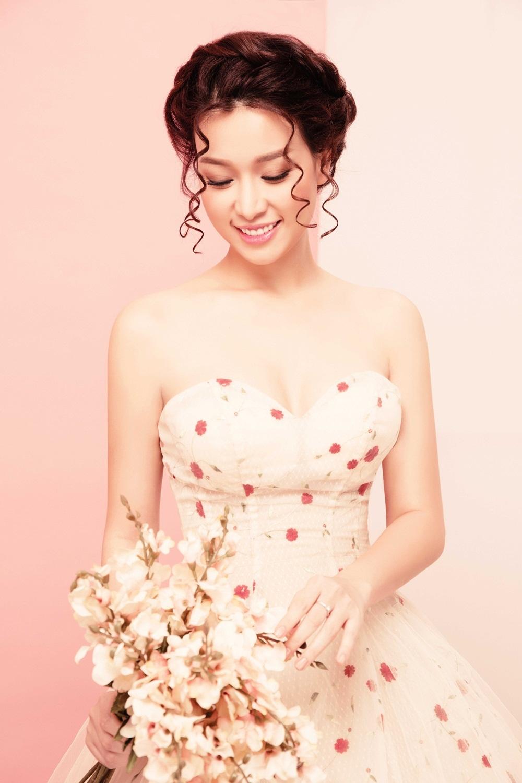 Hoa khôi Trương Tùng Lan hóa cô dâu mong manh - 10