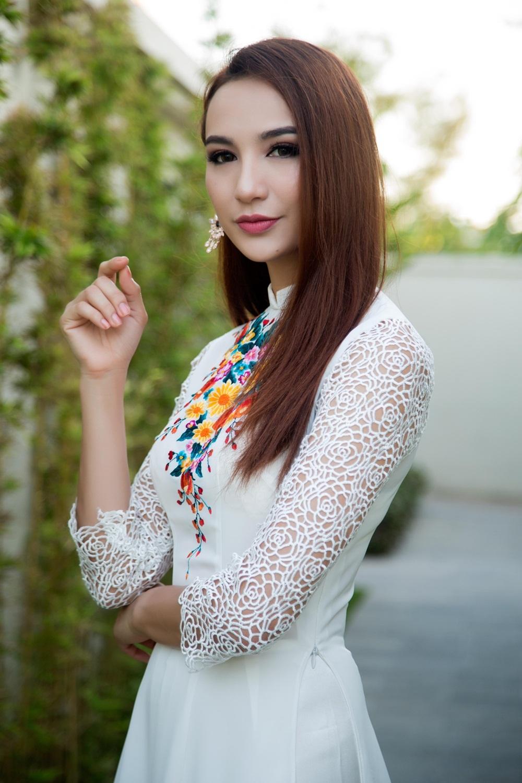 Hoa hậu Ngọc Diễm lộng lẫy làm MC Hoa hậu Bản sắc Việt - 6