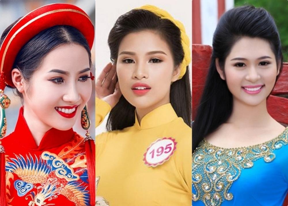 Chân dung 3 nhan sắc tiếp tục dừng chân tại Hoa hậu Việt Nam 2016.