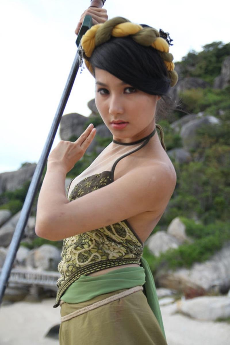 Diễm Mỹ 9X vào vai Mai Thị - Trẻ nhất và là cô em út hồn nhiên của Đường Sơn Quán.