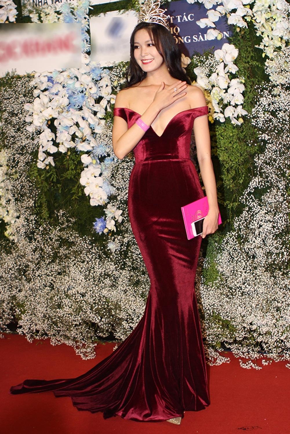 Hoa hậu Thùy Dung với nhan sắc ngày càng hoàn thiện. (Ảnh: Minh Thái).