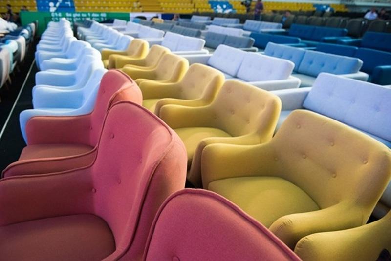 Khu vực ghế ngồi của khách VIP.