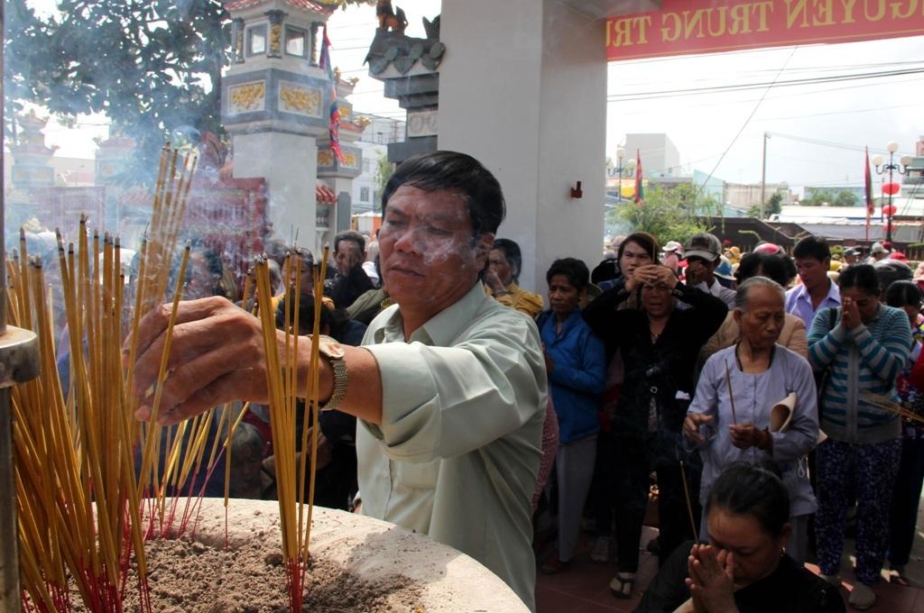 Cả triệu lượt người đến tham dự lễ hội Nguyễn Trung Trực - 6