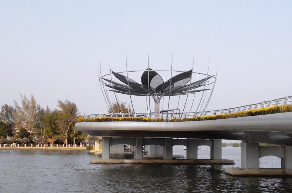 Cận cảnh cây cầu đi bộ đầu tiên ở miền Tây - 9