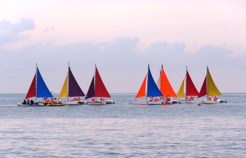 Giải đua thuyền Buồm Kiên Giang mở rộng - Phú Quốc 2016 chính thức khai mạc vào ngày 5/5 tại Phú Quốc