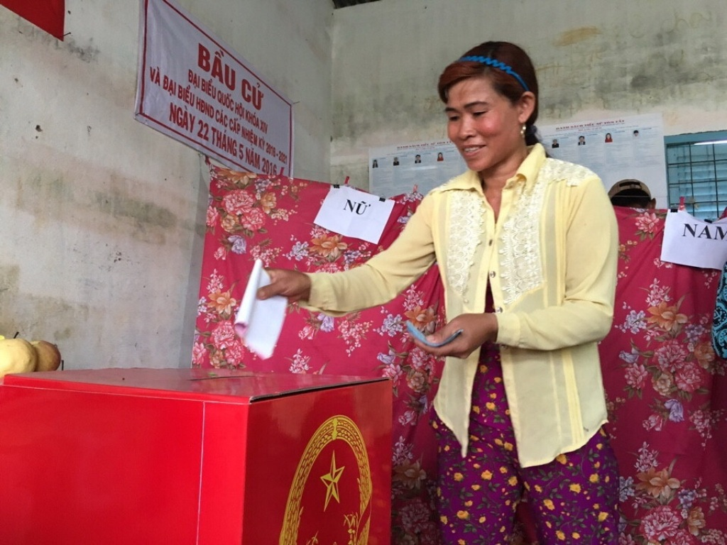 Kiên Giang dù có đông đồng bào dân tộc, nhiều cử tri ở vùng hải đảo, biên giới nhưng tỷ lệ cử tri tham gia bầu cử đại biểu HĐND tỉnh đạt 99,53%.