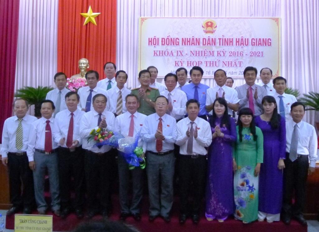 Các thành viên UBND tỉnh Hậu Giang, nhiệm kỳ 2016 - 2021