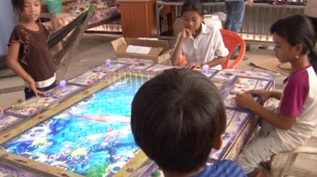 Trò chơi bắn cá ảnh hưởng đến các em nhỏ