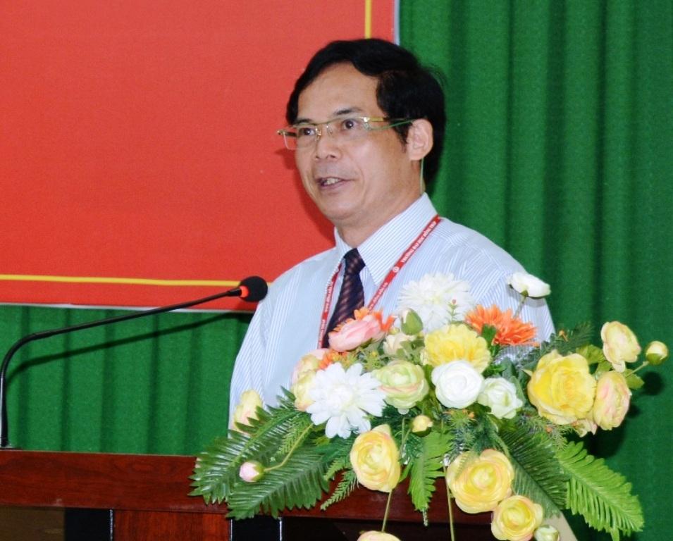 NGƯT.PGS.TS Nguyễn Văn Đệ - Hiệu trưởng, kiêm Chủ tịch Hội đồng thi Trường ĐH Đồng Tháp, cho biết công tác chuẩn bị cho kỳ thi THPT Quốc gia do trường chủ trì cơ bản đã hoàn tất.
