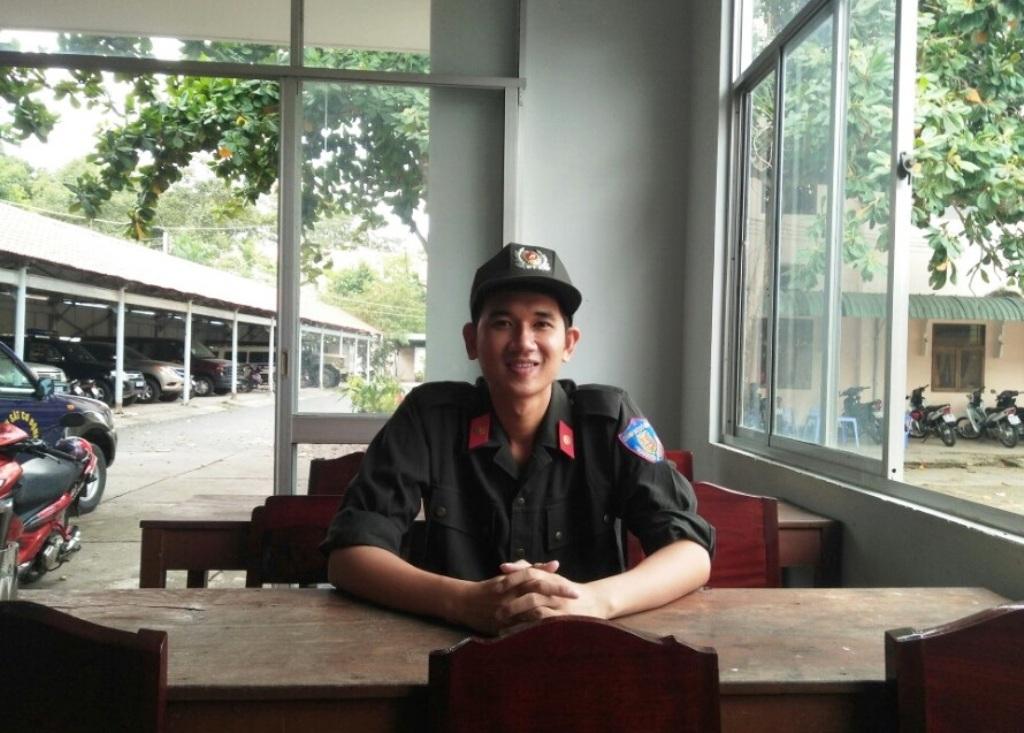 Với số điểm hiện tại, ước mơ vào Học viện Chính trị Công an Nhân dân của Trung sĩ Nguyễn Thái Ngạn sắp thành hiện thực.