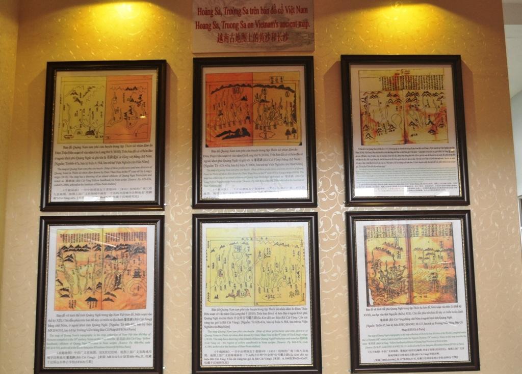 Hoàng Sa, Trường Sa trên bản đồ cổ của Việt Nam
