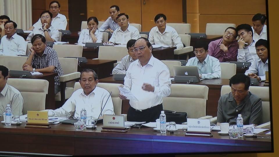 Phó Thủ tướng Nguyễn Xuân Phúc xác nhận, cơ cấu tổ chức bộ máy nhà nước vẫn còn cồng kềnh.