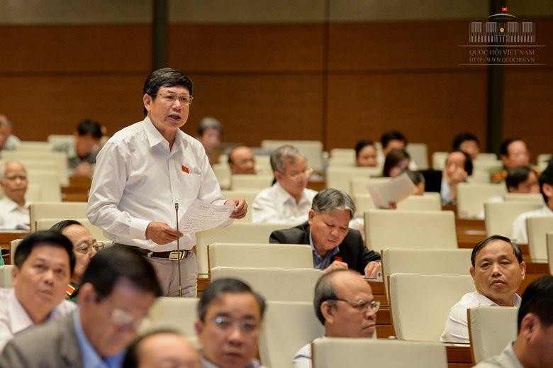 Đại biểu Lê Nam phát biểu trước Quốc hội (ảnh: Quochoi.vn).