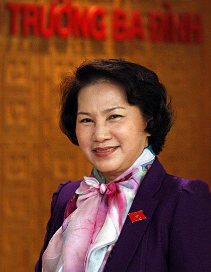 Phó Chủ tịch Quốc hội đương nhiệm Nguyễn Thị Kim Ngân (ảnh: Việt Hưng).