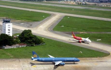 Sân bay Nội Bài sẽ sớm vượt công suất thiết kế ít năm tới.