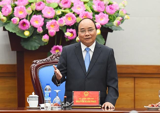 Thủ tướng Nguyễn Xuân Phúc đánh giá cao vai trò của báo chí trong sự phát triển đất nước.