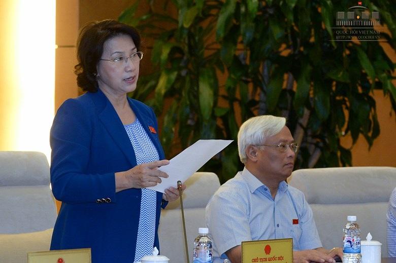 Chủ tịch Quốc hội Nguyễn Thị Kim Ngân: Quyết toán ngân sách lần này không thể cho qua những khoản chi vượt dự toán nữa.