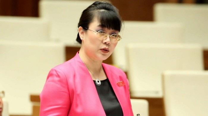Bà Nguyễn Thị Nguyệt Hường trên cương vị đại biểu Quốc hội khoá XIII.