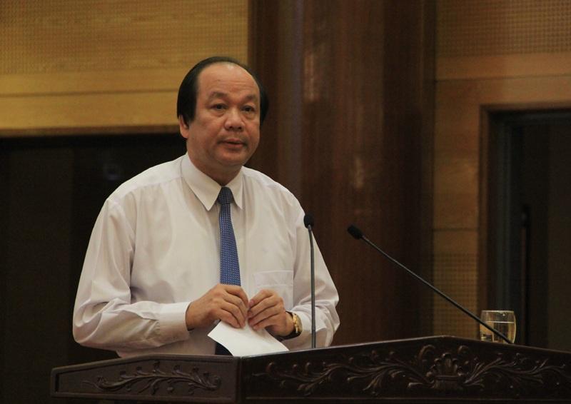 Bộ trưởng - Chủ nhiệm Văn phòng Chính phủ Mai Tiến Dũng: Thủ tướng yêu cầu các Bộ trưởng phải chịu trách nhiệm trực tiếp đối với các việc trong lĩnh vực phụ trách của mình.