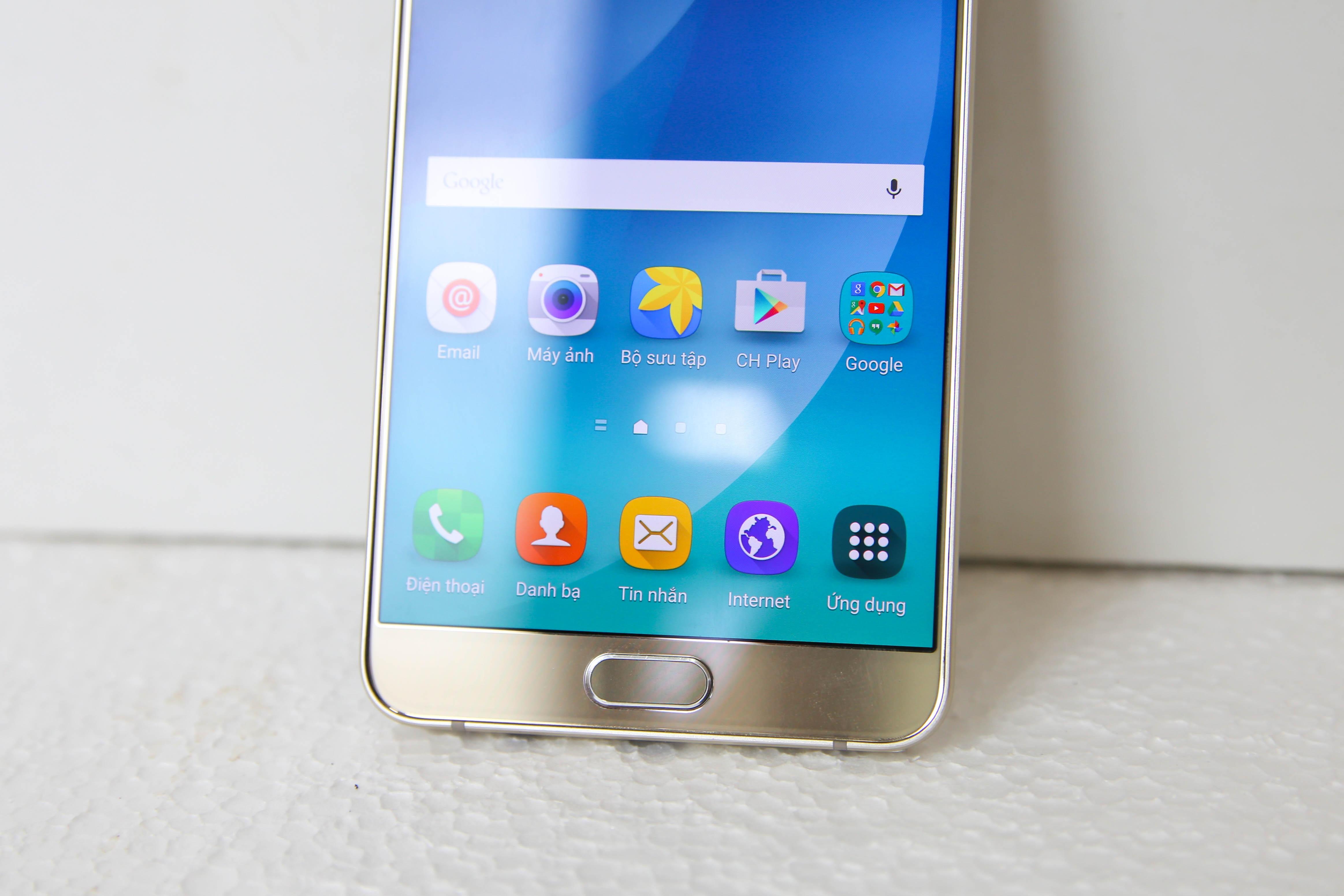 Đánh giá điện thoại Samsung Galaxy Note 5 - 9