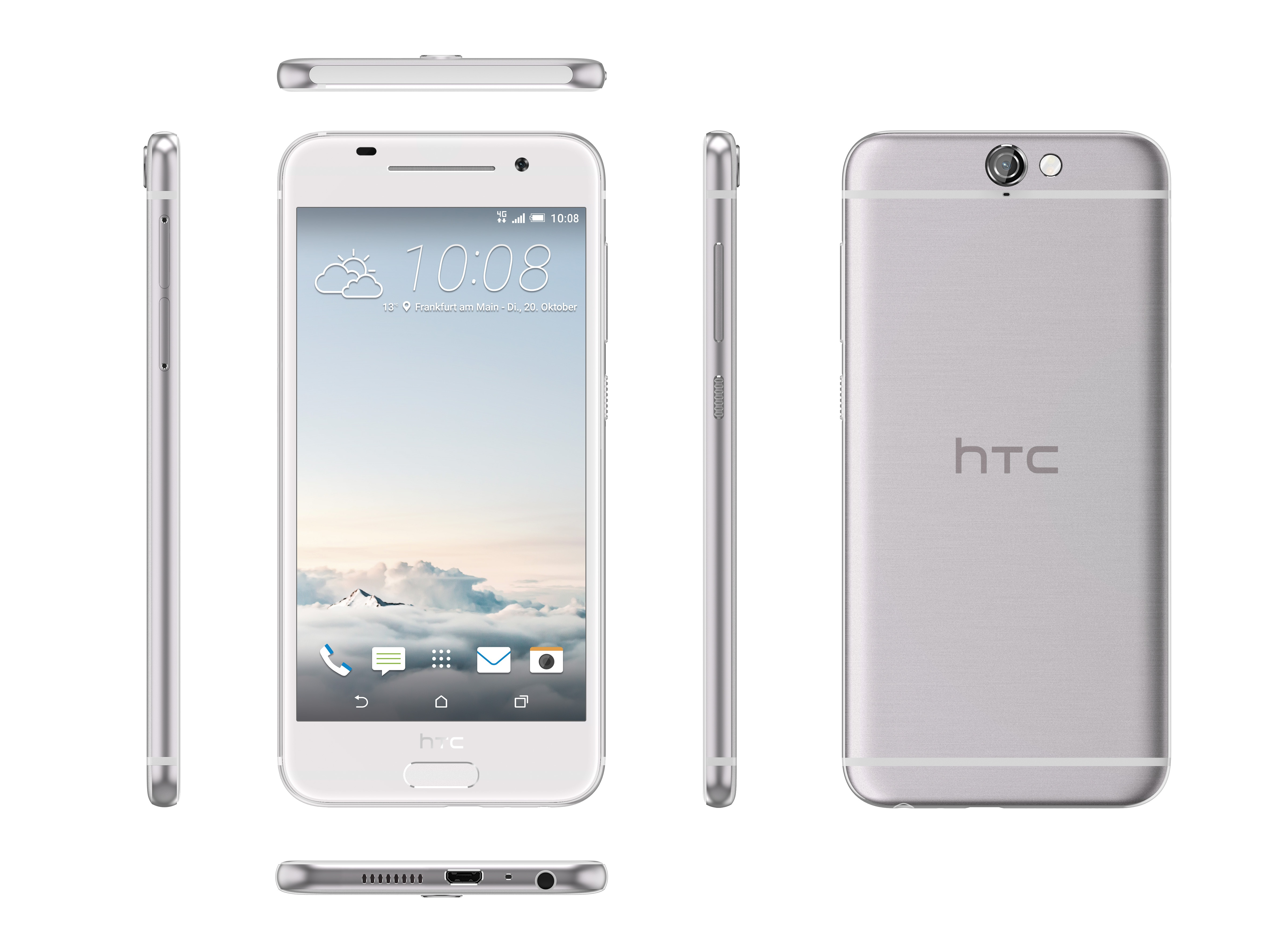HTC One A9 có giá chính hãng 11,9 triệu đồng, bán từ 17/11 - 2