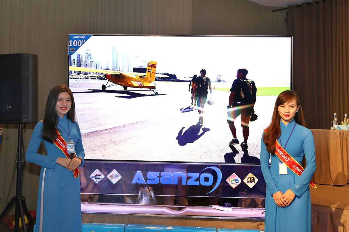 Mẫu Asanzo 100S1 - màn hình 100 inch