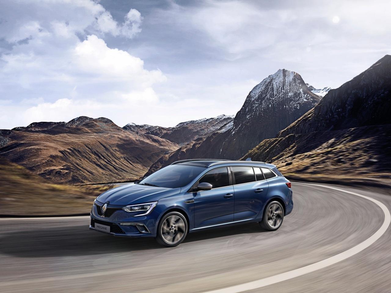 Renault Megane Estate sẵn sàng cho ngày ra mắt - 2