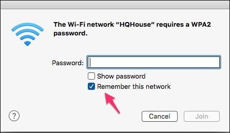 Ghi nhớ mạng Wi-Fi sẽ gây mất an toàn cho máy tính Mac - 1