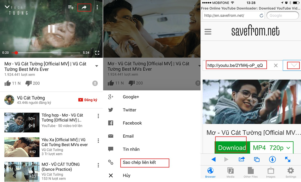Hướng dẫn tải video Facebook về máy iPhone - 6
