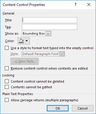 Mẹo tạo form điền bằng Word - 6
